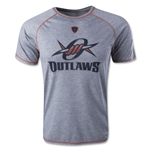 MLL Denver Outlaws Strike 2.0 Technical Shooter Strike Lacrosse T-Shirt