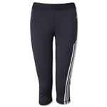 adidas Women's TechFit 3/4 Tight (Blk/Wht)