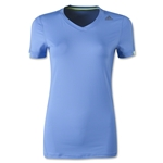 adidas Women's TechFit T-Shirt (Blue)