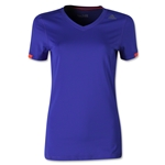 adidas Women's TechFit T-Shirt (Purple)