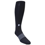 Under Armour Soccer Over the Calf Sock (Black)