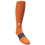 Under Armour Soccer Over the Calf Sock (Orange)