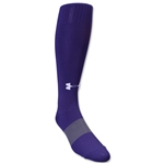 Under Armour Soccer Over the Calf Sock (Purple)