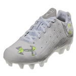 Under Armour Women's LAX Finisher MC (White/Metallic Silver)