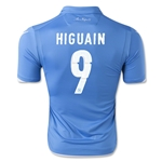 Napoli 14/15 HIGUIAN Home Soccer Jersey