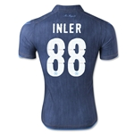 Napoli 14/15 INLER Away Soccer Jersey