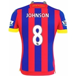 Crystal Palace 14/15 JOHNSON Home Soccer Jersey