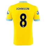 Crystal Palace 14/15 JOHNSON Away Soccer Jersey