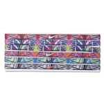 Nike Printed Headband Assorted 6 Pack (Green)