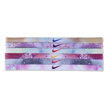 Nike Printed Headband Assorted 6 Pack (Purple)