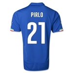 Italy 14/15 PIRLO Home Soccer Jersey