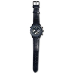 Chelsea FC Rotary Pilot Leather Strap Watch
