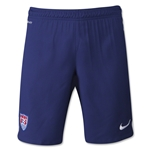 USA 2015 Away Soccer Short