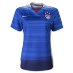USA 2015 Women's Away Soccer Jersey