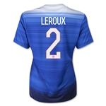 USA 2015 LEROUX Women's Away Soccer Jersey