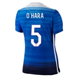 USA 2015 O HARA Women's Away Soccer Jersey
