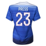 USA 2015 PRESS Women's Away Soccer Jersey