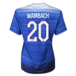 USA 2015 WAMBACH Women's Away Soccer Jersey