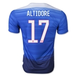 USA 2015 ALTIDORE Away Soccer Jersey