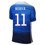 USA 2015 BEDOYA Away Soccer Jersey