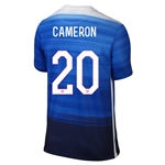USA 2015 CAMERON Away Soccer Jersey