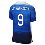 USA 2015 JOHANNSSON Away Soccer Jersey