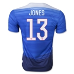USA 2015 JONES Away Soccer Jersey