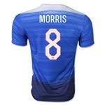 USA 2015 MORRIS Away Soccer Jersey