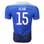 USA 2015 REAM Away Soccer Jersey
