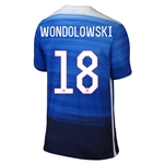 USA 2015 WONDOLOWSKI Away Soccer Jersey