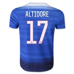 USA 2015 ALTIDORE Youth Away Soccer Jersey