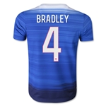 USA 2015 BRADLEY Youth Away Soccer Jersey