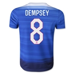 USA 2015 DEMPSEY Youth Away Soccer Jersey
