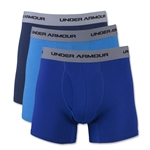 Under Armour Charged Cotton Stretch 6 Boxerjock 3 Pack (Royal/Navy)