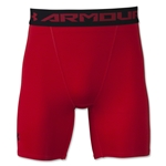 Under Armour Heatgear Compression Short (Red)