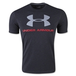 Under Armour Charged Cotton Sportsyle Logo T-Shirt (Blk/Red)