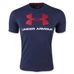 Under Armour Charged Cotton Sportsyle Logo T-Shirt (Navy)