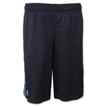 Under Armour Boys UA Eliminator Short (Black/Sky)