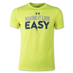 Under Armour Youth Make it Easy T-Shirt (Yellow)