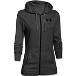 Under Armour Charged Cotton Tri-Blend Women's Full-Zip Hoody (Black)