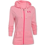 Under Armour Charged Cotton Tri-Blend Women's Full-Zip Hoody (Pink)