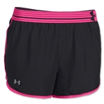Under Armour Perfect Pace Short (Black/Pink)