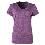 Under Armour Twisted Tech V-Neck Women's T-Shirt (Purple)