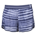 Under Armour Striped Perfect Pace Short (Navy)