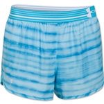 Under Armour Striped Perfect Pace Women's Short (Sky)