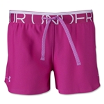 Under Armour Girls Play Up Short (Neon Pink)