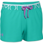 Under Armour Girls Play Up Short (Teal)