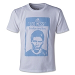 adidas Messi Label Youth T-Shirt (White)