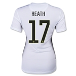 USWNT 2015 HEATH Women's Home Soccer Jersey