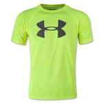 Under Armour Boys UA Tech Big Logo T-Shirt 2 (Neon Yellow)